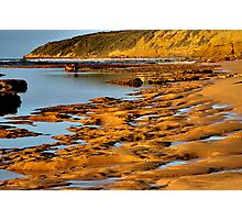 """Sculptured Shoreline"" Photographic Print"