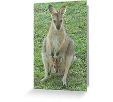 Mum and Joey 2007 Greeting Card
