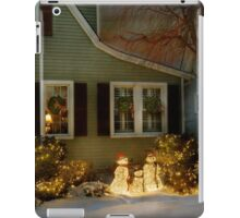 Christmas - A family moment iPad Case/Skin