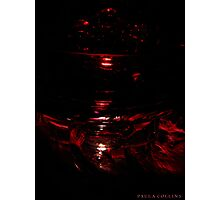 Red Touch  Photographic Print