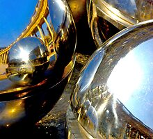 Reflections in the spheres by Ashley Ng