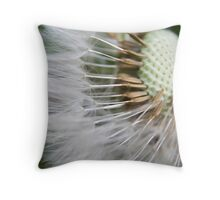 Dandelions seed Throw Pillow