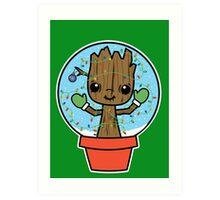 Rockin' Around the Grootmas Tree Art Print