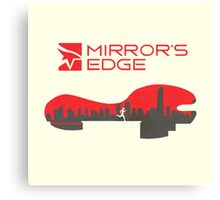 Mirror´s Edge Canvas Print