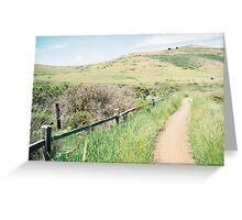 Marin Headlands, GGNRA, Marin, CA Greeting Card