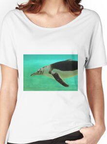 "The Penguin  (2) - Fantastic underwater photo of a penguin in ""flight"" Women's Relaxed Fit T-Shirt"