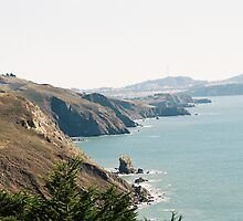 Coastline Southern Marin County, CA by stephen hewitt