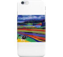 Cows Landscape iPhone Case/Skin