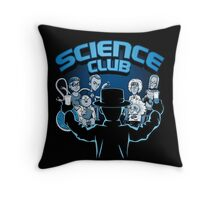 Science Club Throw Pillow