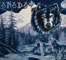 wolves by cherlene50