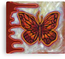 The Influence of Butterflies (sml) Canvas Print