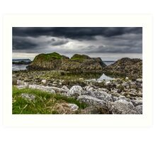 Ballintoy - Games of Thrones - Sea View Print Art Print
