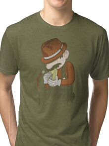 8-Bit Blues Tri-blend T-Shirt