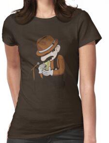 8-Bit Blues Womens Fitted T-Shirt