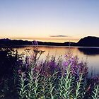 Douglas Island Sunset by Ray Thacker