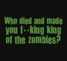 'King of the Zombies' Shaun of The Dead  T-Shirt