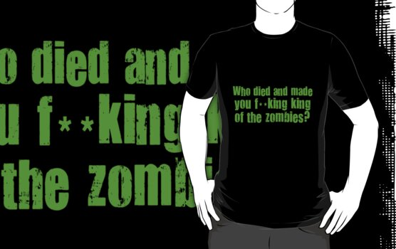 'King of the Zombies' Shaun of The Dead  by Monsterkidd