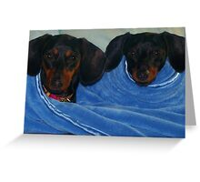 Diddy & Doodles Greeting Card