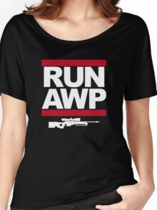RUN AWP Women's Relaxed Fit T-Shirt