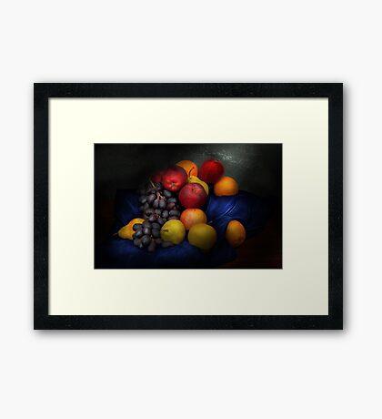 Food - Fruit - Fruit still life  Framed Print