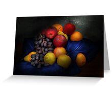 Food - Fruit - Fruit still life  Greeting Card