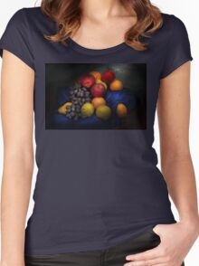 Food - Fruit - Fruit still life  Women's Fitted Scoop T-Shirt