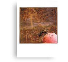 Da Vinci,s finger Canvas Print