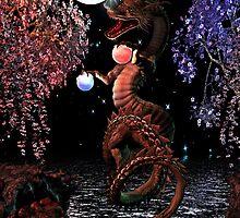Cosmic Dragon by Heztia