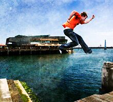 The jump by Jeff Davies