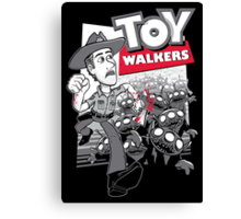 Toy Walkers Canvas Print