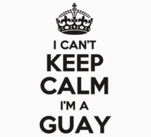 I cant keep calm Im a GUAY by icant