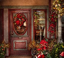 Winter - Store - Metuchen, NJ - Dressed for the holidays by Mike  Savad