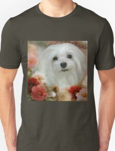 Snowdrop the Maltese - Bright Eyes T-Shirt
