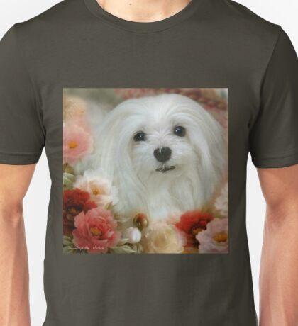 Snowdrop the Maltese - Bright Eyes Unisex T-Shirt