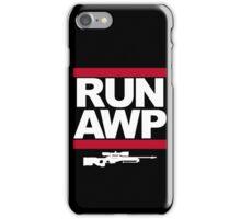 RUN AWP iPhone Case/Skin