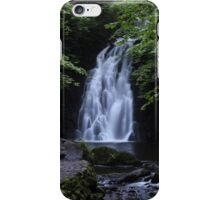 Waterfall Print (2) / Lovely Photo of a waterfall in Ireland iPhone Case/Skin