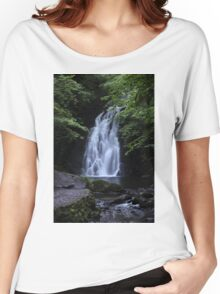 Waterfall Print (2) / Lovely Photo of a waterfall in Ireland Women's Relaxed Fit T-Shirt