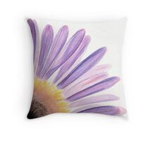Seaside Daisy Throw Pillow