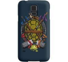 Turtle Family Crest - Full Color Samsung Galaxy Case/Skin