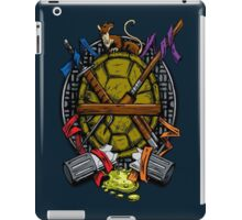 Turtle Family Crest - Full Color iPad Case/Skin