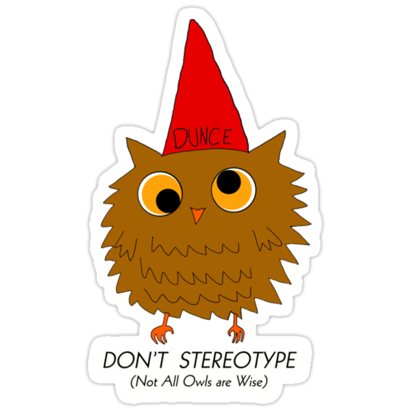 Owl Stereotype by Ryan Houston