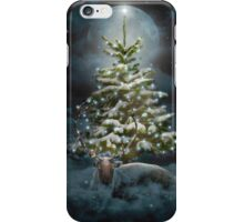 All Is Calm. All Is Bright. (Winter Guardian / Winter Reindeer - Night)  iPhone Case/Skin