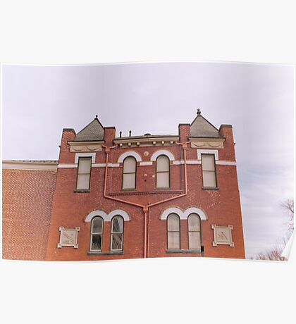 Bedford County Museum-West Side Poster