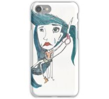 letting go is hard iPhone Case/Skin