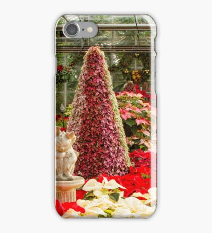 Centennial Greenhouse Christmas iPhone Case/Skin