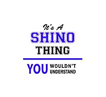 It's a SHINO thing, you wouldn't understand !! by allnames
