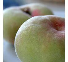 'White Peaches' Photographic Print