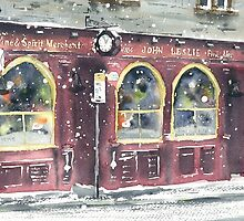 Leslie's Bar (snow) by Ross Macintyre