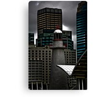 At Sea In The City Canvas Print
