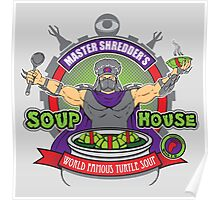 TMNT Master Shredder's Soup House Poster